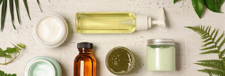 les cosmétiques d'origine naturelle